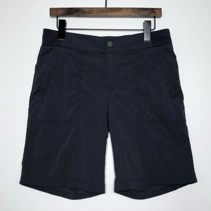ATHLETA Trekkie Bermuda 2.0 Shorts Dark Gray